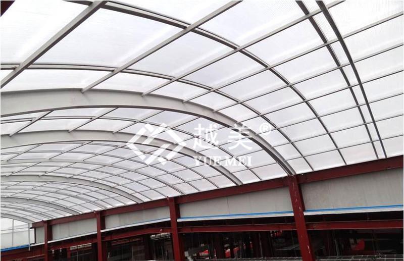 Bes sarl produits en polycarbonate toitures et s parations - Pose plaque polycarbonate ...